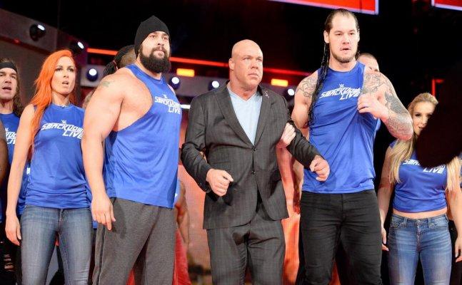 Lesner accept Jinder Mahal challenge, Smackdown attack Raw superstars