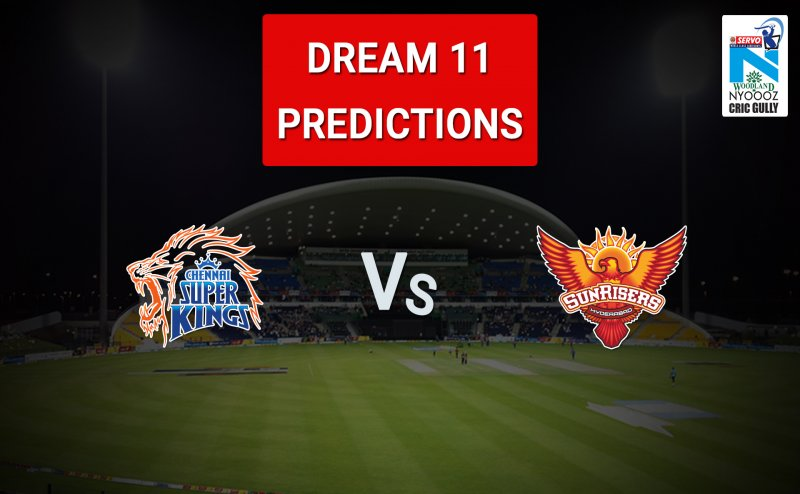 CHENNAI VS HYDERABAD / CSK VS SRH - FINAL IPL 2018 DREAM 11 TEAM PREDICTION