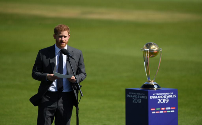 ICC World Cup 2019: Prince Harry opens up the tournament with emotional speech