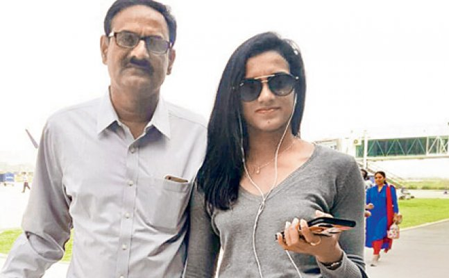 First time I saw her crying after losing a match: Sindhu's father