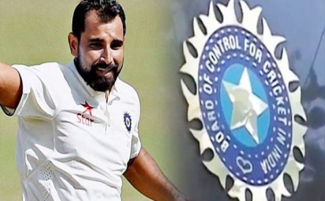 Mohammed Shami Gets Clean Chit from BCCI