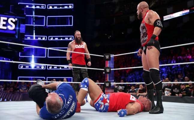 Survivor Series: Strowman powerslams Triple H, Brock victorious