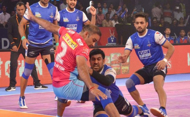 PKL 2017: Jaipur, Haryana Steelers play out a thrilling draw