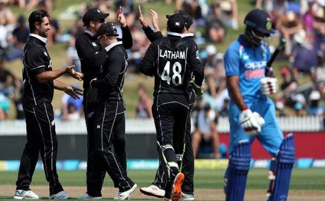 ICC World Cup 2019: India's batting line collapsed in warm-up match against New Zealand