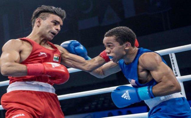 Boxing: Gaurav Bidhuri settles for bronze at the World Boxing Championship