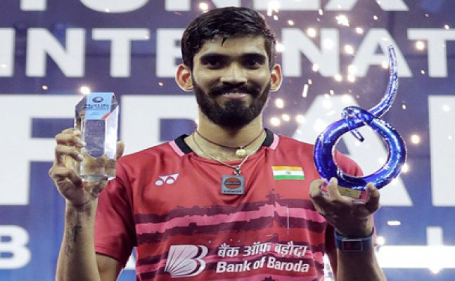Kidambi becomes first Indian to win four Super Series in a year