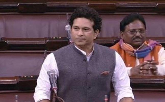 Opposition deny Sachin Tendulkar to deliver his maiden speech in Rajya Sabha