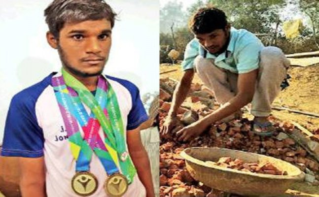 Special Olympic gold medalist now works as daily wage labour