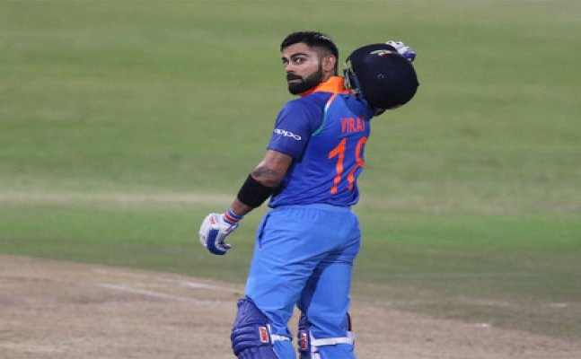Virat Kohli equals Ganguly's record, records his first centruy in South Africa