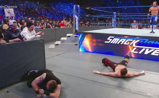 WWE: No. 1 Contender's Match: Kevin Owens vs. Sami Zayn