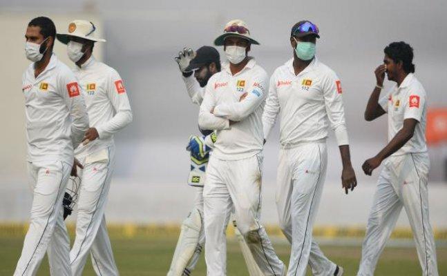 Lankan players wearing mask is shameful for Govt