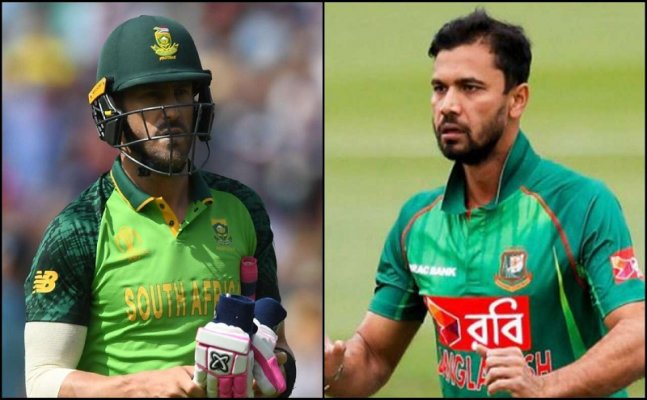 South Africa vs Bangladesh, World Cup 2019 : Head-to-head, Playing XI  & Match details