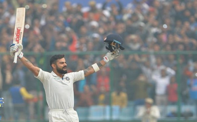 Virat jumps to second spot in latest ICC Test ranking