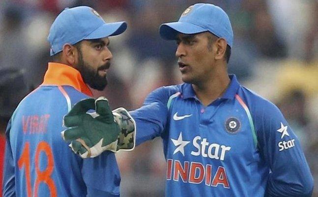Dhoni, Kohli's funny exchanges caught on stump mic
