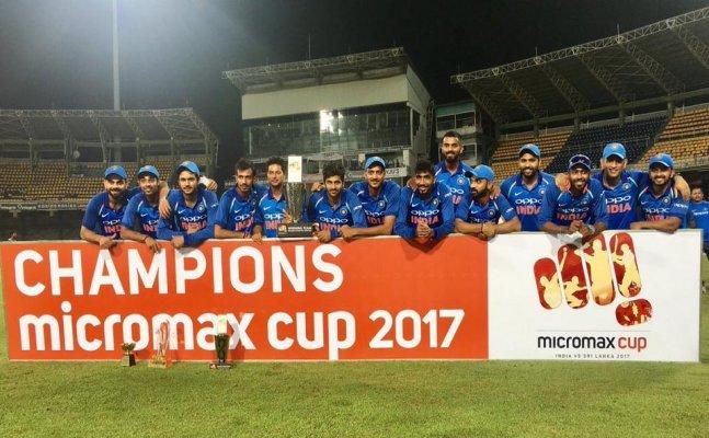 India vs Sri Lanka: Bhuveneshwar, Kohli lead India to 5-0 series win