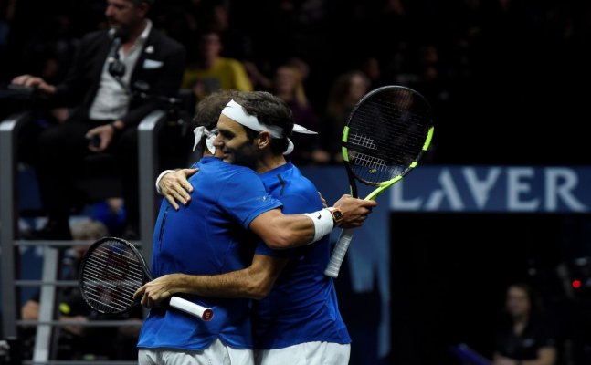 Lavar Cup: Nadal and Federer teams up for the first time, cruise to win