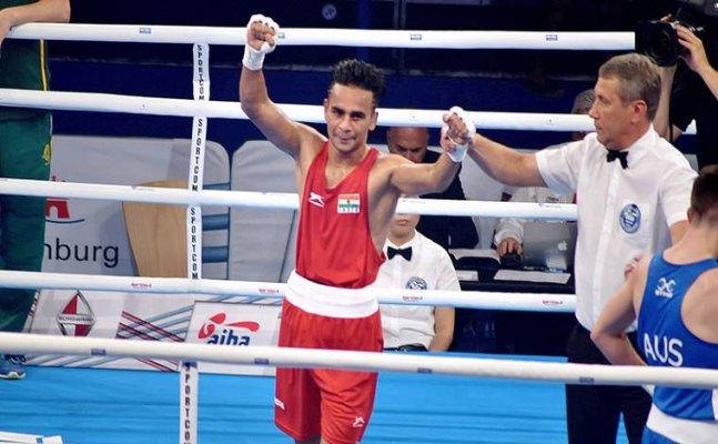Gaurav Bidhuri guarantees India a medal at the World Boxing Championship