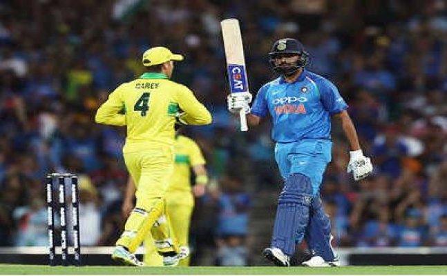 India Lose Australia by 34 runs in 1st ODI