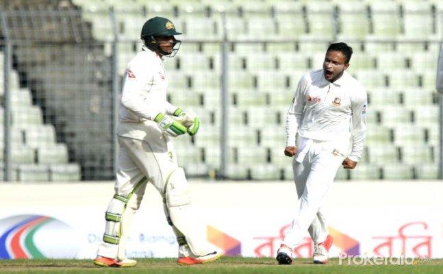 Watch: Bangladesh celebrate their historic win against Australia in peculiar fashion