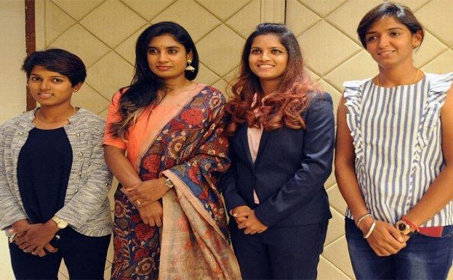 Indian women cricketers felicitated by Mumbai Cricket Association