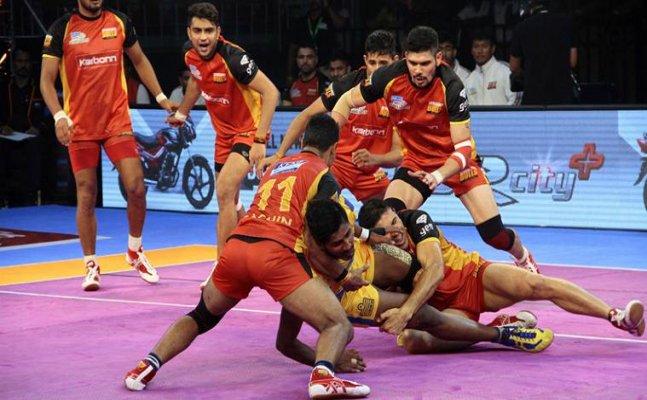 PKL 2017: Bengaluru Bulls beat Tamil Thalaivas