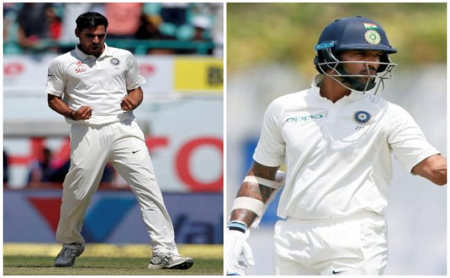 Shikhar Dhawan, Bhuvneshwar released from squad