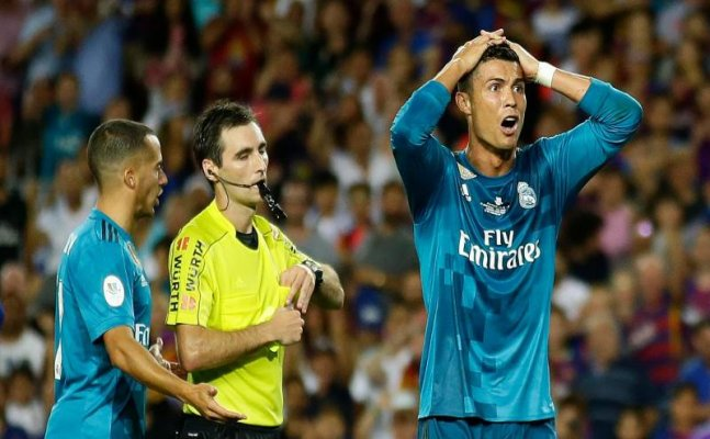 Ronaldo suspended for five matches for referee push