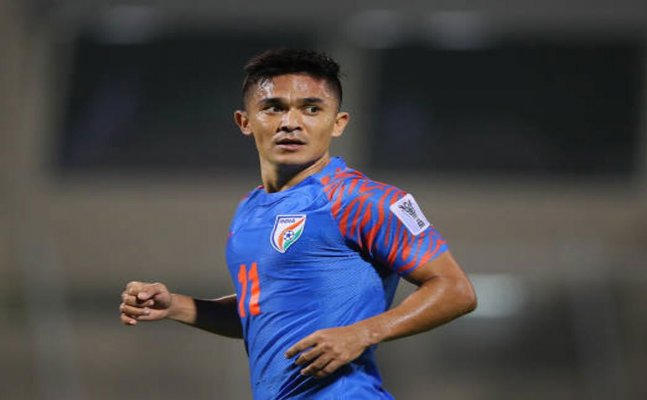India's Sunil Chhetri surpasses Lionel Messi's tally of int'l goals, only behind Cristiano Ronaldo