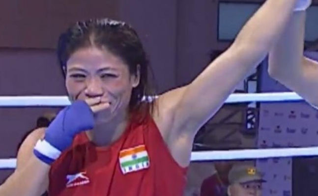 Mary Gold: Mary Kom wins gold at Asian Boxing Champion