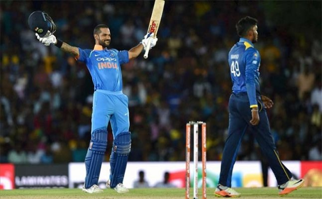 Find out what Dhawan said after scoring his fastest century