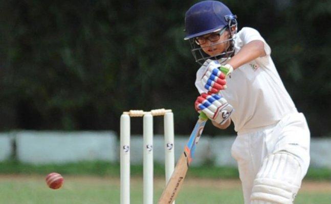 Rahul Dravid's son smash 150 runs