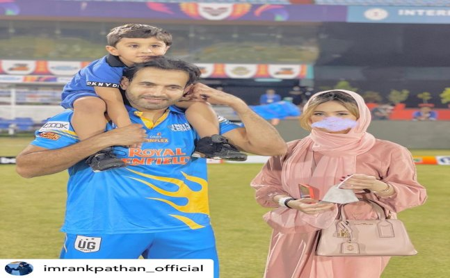 'I'm not her master'- Irfan Pathan hits back at trollers over wife's blurred pic