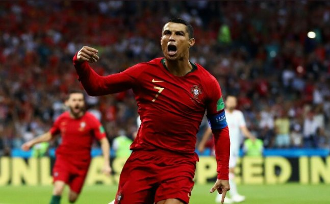Cristiano Ronaldo's brace leads Portugal to first victory, adds several records to his name
