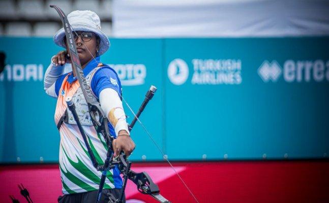 Archer Deepika Kumari wins triple gold medals at archery world cup, retains World No. 1 spot