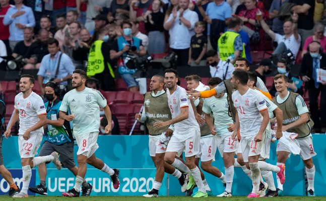 Euro Cup 2021: Spain reach quarters in style by scoring five past Croatia in an 8-goal thriller
