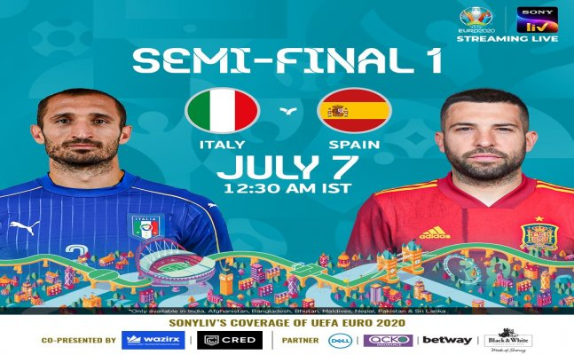 Euro 2021: 3-time winner Spain face an unbeaten Italy, Preview and live streaming in India