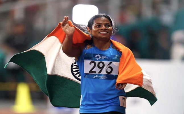 Tokyo 2020: Dutee Chand finishes last in 200m qualifying heat despite season-best time