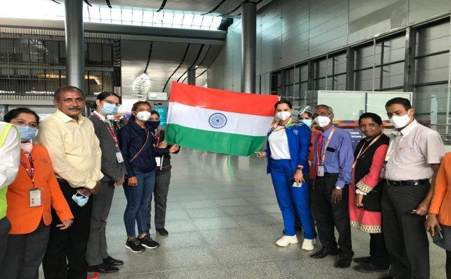 Tennis star Sania Mirza, double's partner Ankita Raina depart for Tokyo Olympics 2021