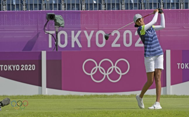 Aditi Ashok moves closer to India's 1st Olympic medal in golf, ranked 2nd after round 3