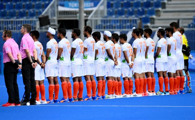 Indian men's hockey ends 41-year long medal drought, defeats Germany 5 -4 in bronze medal match