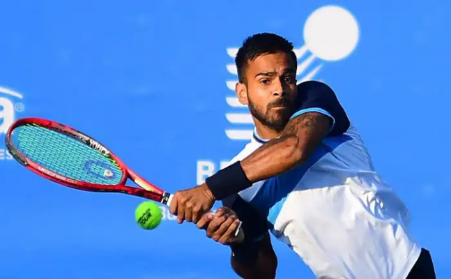 Indian tennis player Sumit Nagal ousted, defeated by Russia's Daniil Medvedev