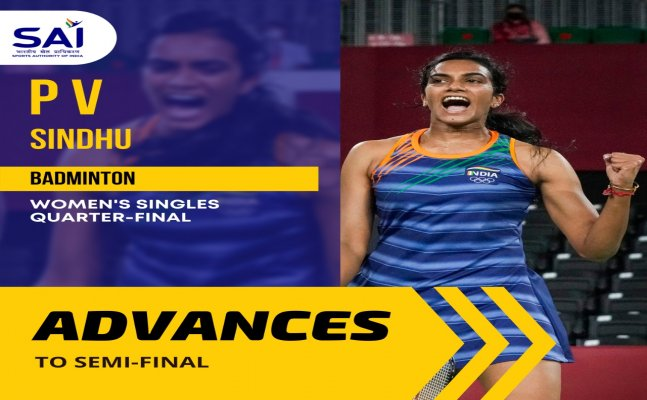 Tokyo 2020: India's PV Sindhu storms into semi-finals by beating Japan's Yamaguchi in straight sets