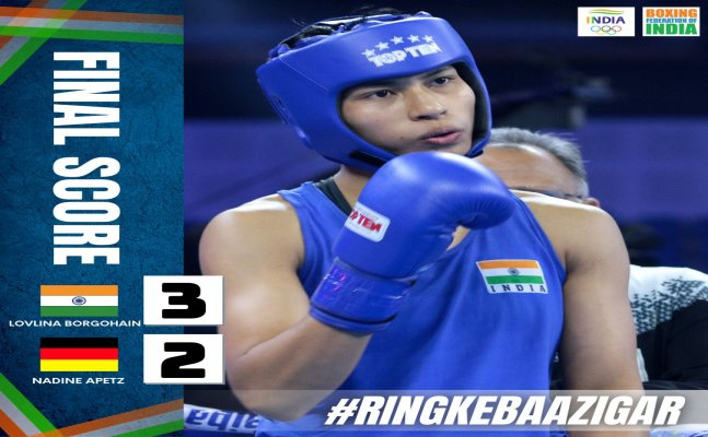 Indian boxer Lovlina Borgohain earns qaurterfinal qualification, one win away from olympic medal