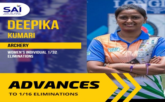 Tokyo 2020: With eyes on medal, Archer Deepika Kumari storms into round of 16 by defeating Bhutan's Bhu Karma