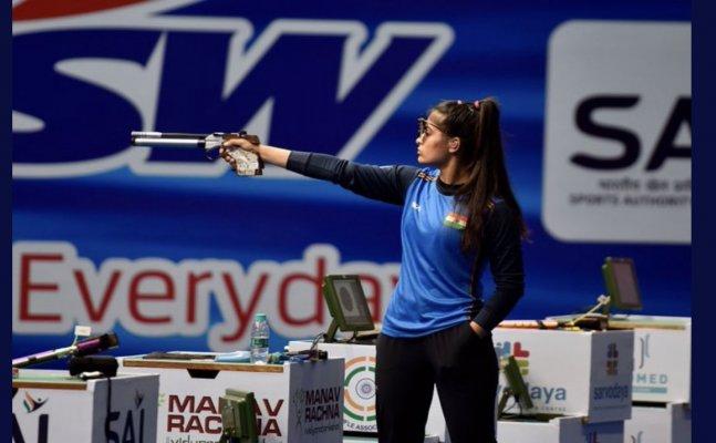 Tokyo 2020: Shooter Manu Bhaker, Rahi Sarnobat ranked 5th, 25th in 25m air pistol qualifiers