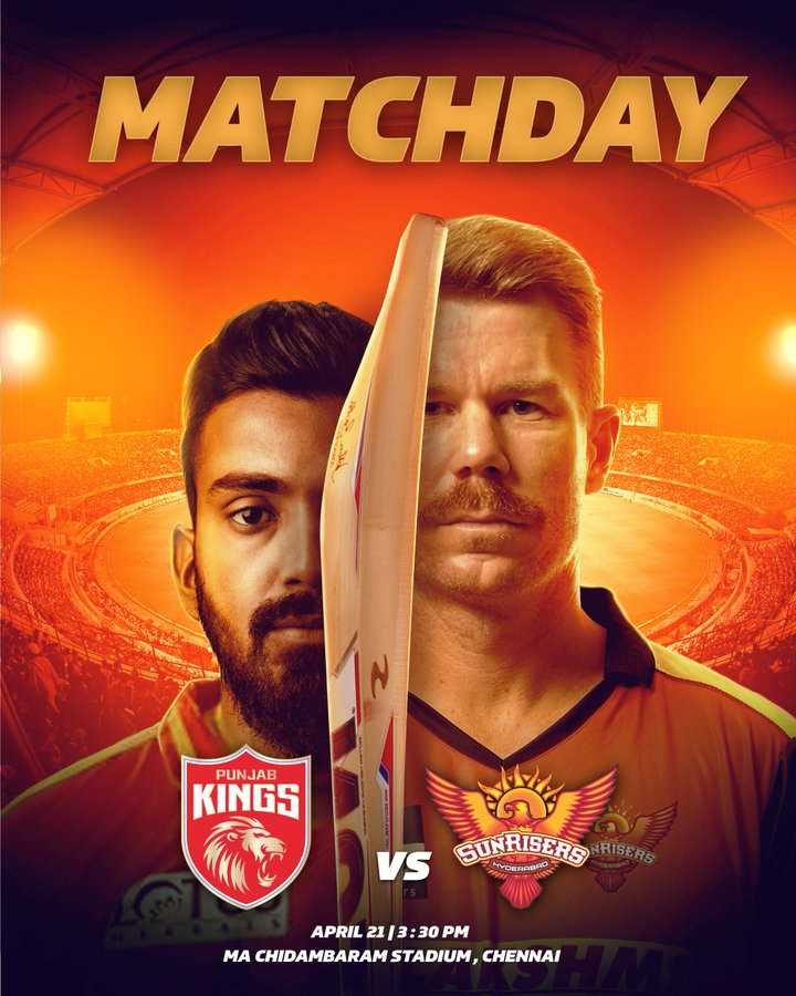 IPL 2021: FIND OUT PBKS VS SRH PREDICTED XI, Head-To-Head, AND FREE LIVE STREAM DETAILS