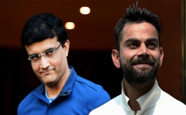 Sourav Ganguly supports Kohli's demand for pay hike