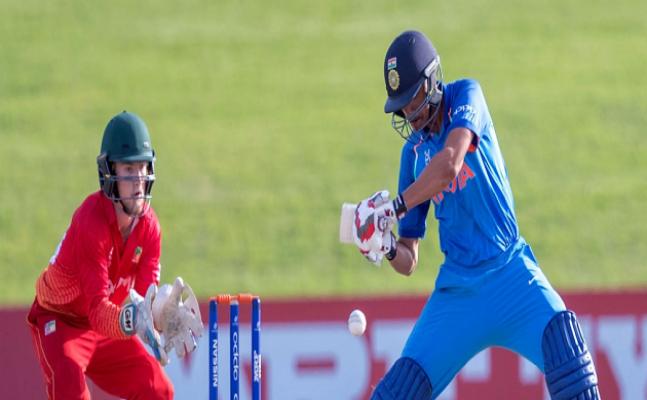 ICC U-19 WC: India beat Zimbabwe by 10 wickets