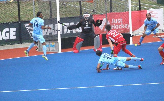 Indian Men's Hockey Team go down 0-2 against Belgium