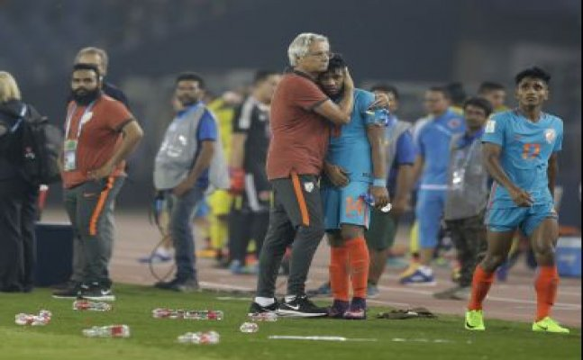 FIFA U-17 WC: India coach Luis Norton proud of the team despite loss